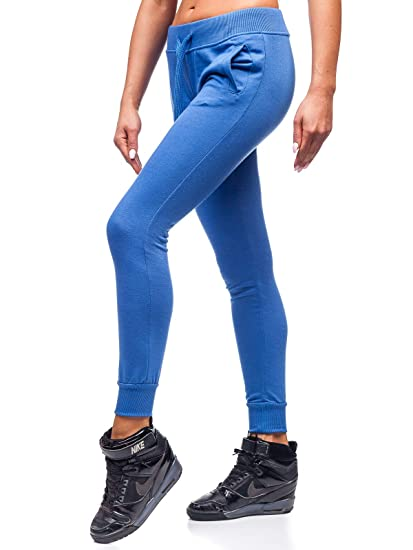 Damen Joggerhose Trainingshose Jogger Sporthose Fitness Hose BOLF F6F Training