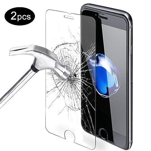 2 opinioni per Pellicola Vetro Temperato iPhone 7 iPhone 8,Orlegol [Anti-Graffio] Chiaro