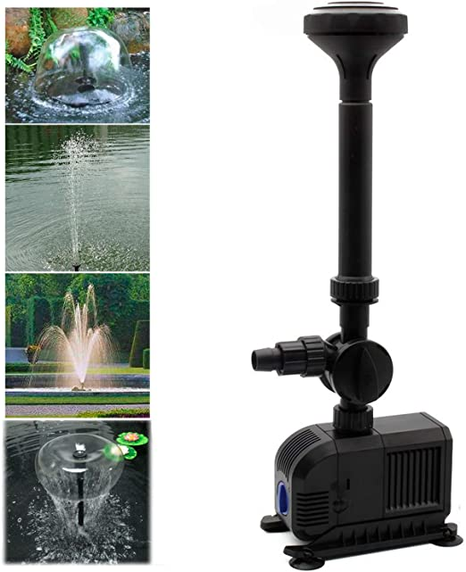 Forever Speed Bomba de Agua Estanque Bomba Bomba de Fuente Bomba Sumergible Bomba de Eco 3000L/h: Amazon.es: Jardín