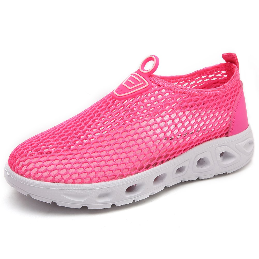 CIOR Boys Girls Quick Dry Water Shoes Lightweight Slip-on Sneakers for Beach Walking Running U118SWX016