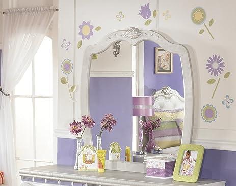 Signature Design By Ashley B182 26 Zarollina Collection Bedroom Mirror,  Silver