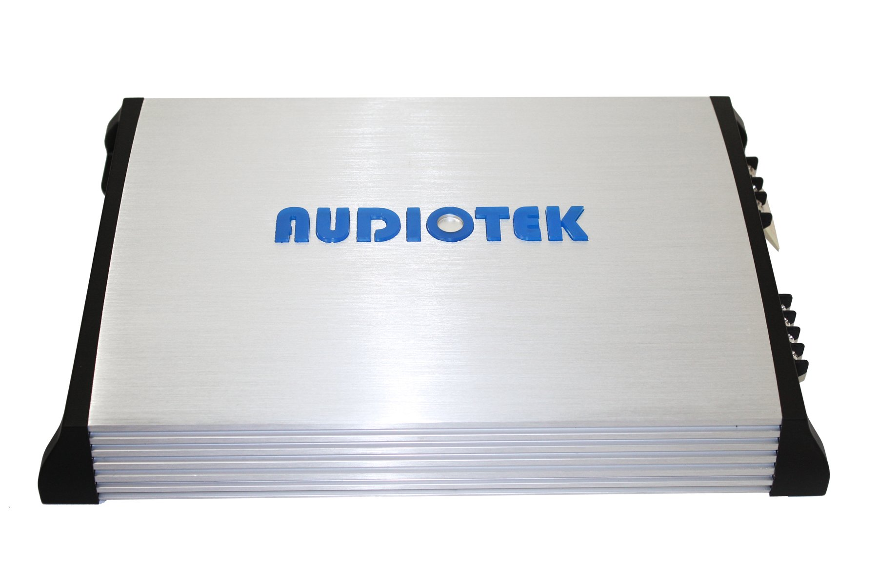 Audiotek At840S 2 Channels Class Ab 2 Ohm Stable 2400W Stereo Power Car Amplifier W/ Bass Control