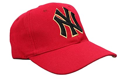 Buy NY Yankees Baseball Cap (Red) Online at Low Prices in India ... 672a3ea731b