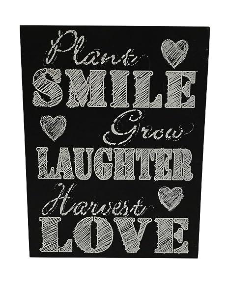 Pide X esa Boca Smile Cartel Tabla Decorativa Pizarra ...