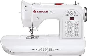 Singer One Máquina de Coser, Color Blanco: Amazon.es: Hogar