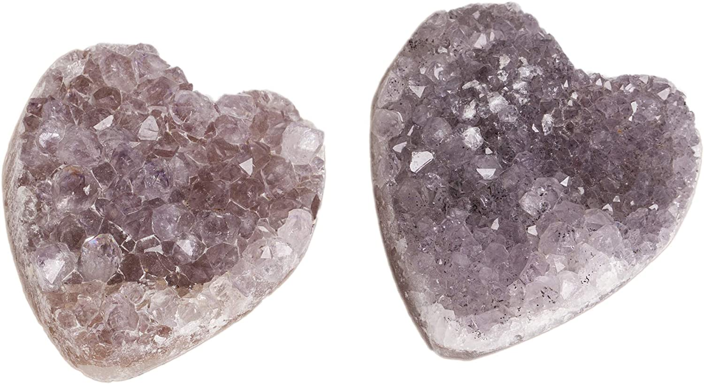 AMOYSTONE Rose Quartz Pulls Cabinet Dresser Knobs Crystal Stone for Nursery Dresser Drawer Decorative Sphere Pink 4 Pcs Small 1