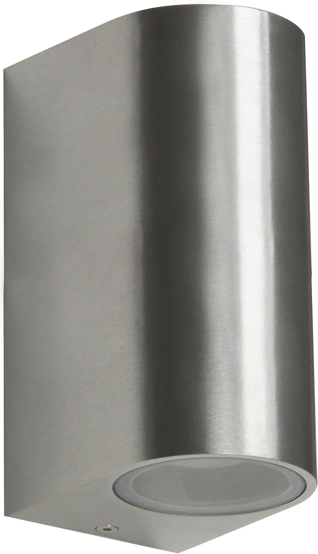 Ranex GmbH RA-5000467 Luz LED Exterior, Cromado, 40 x 40 x 12 cm ...