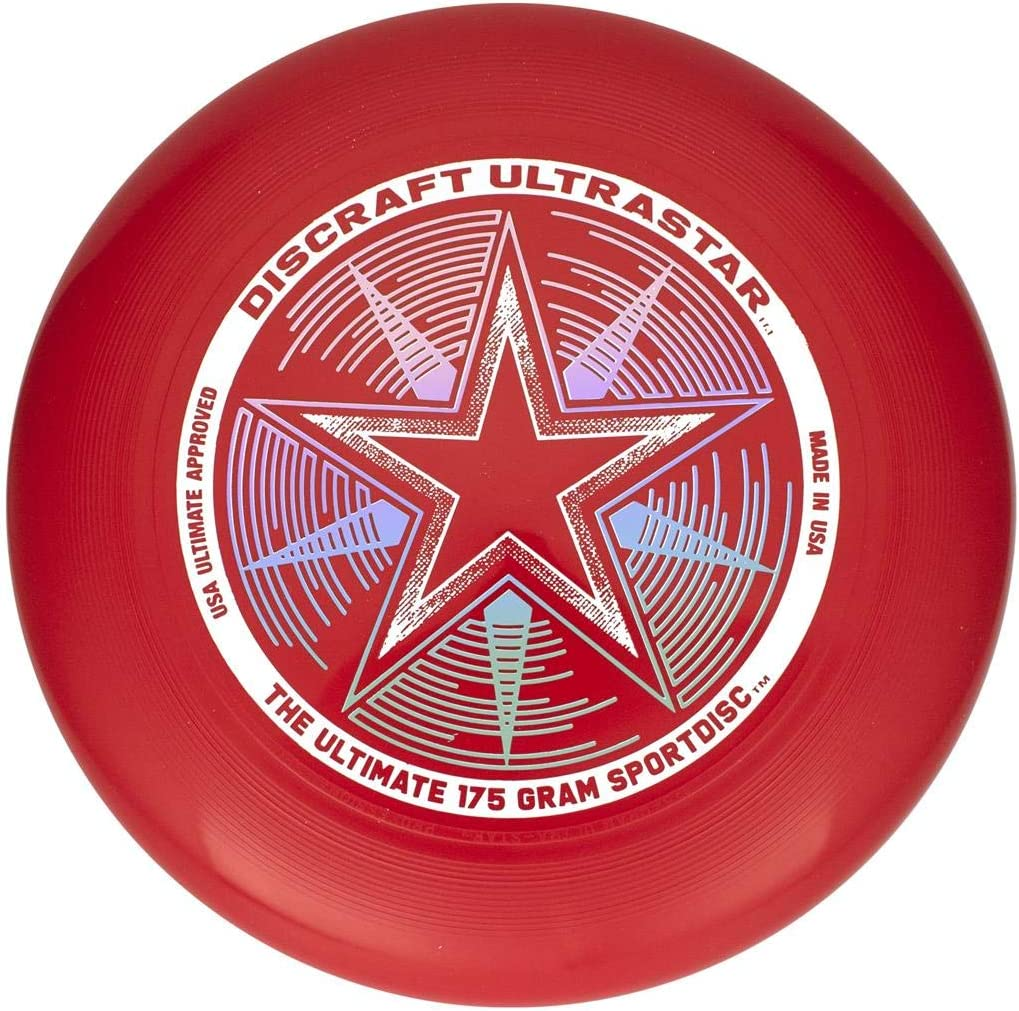 /Frisbee Discraft Ultra Star 175/g superc OLOR Good livin Van New Games/