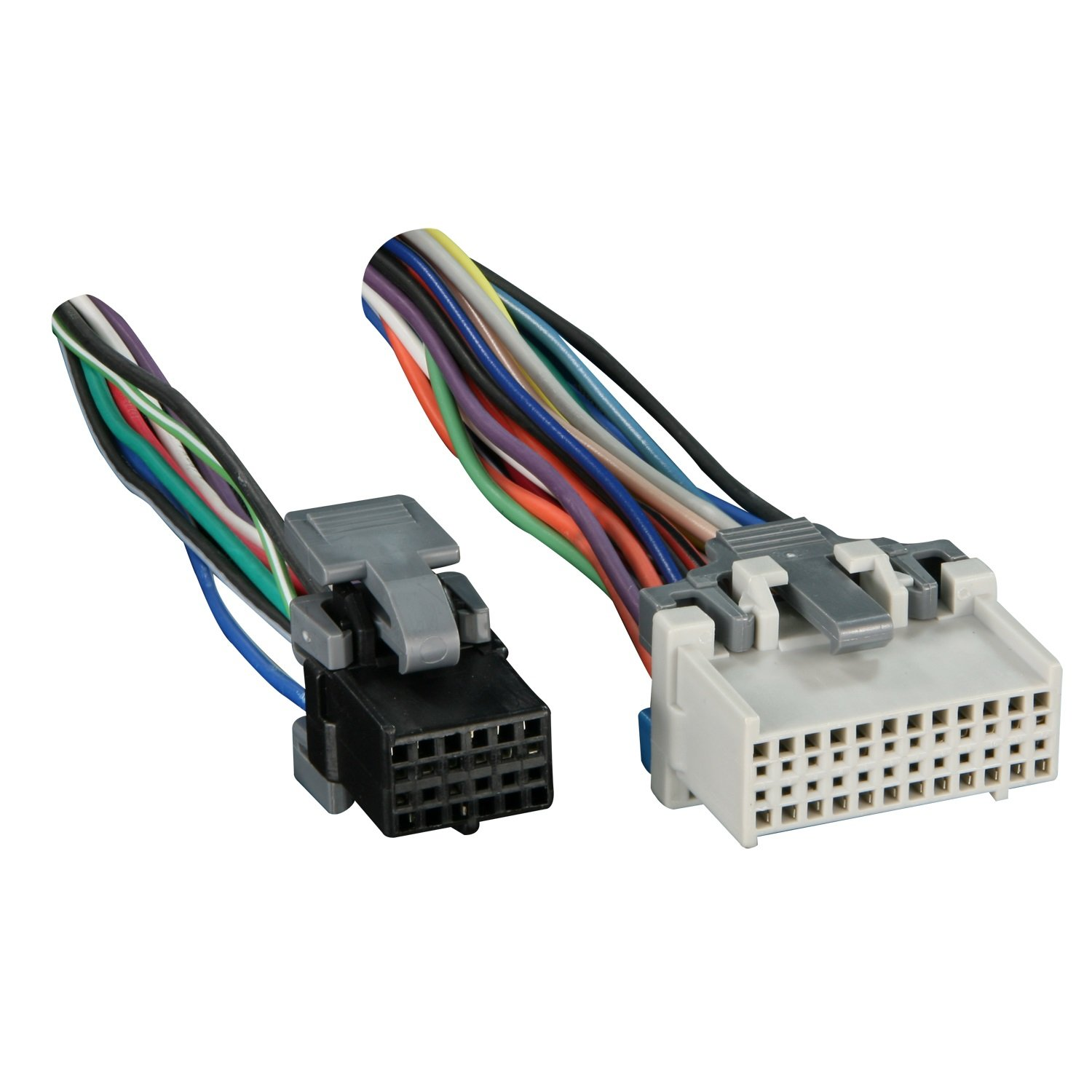 711log4bdML._SL1500_ amazon com metra turbowires 71 2003 1 wiring harness car electronics gm wiring harness connectors at bayanpartner.co