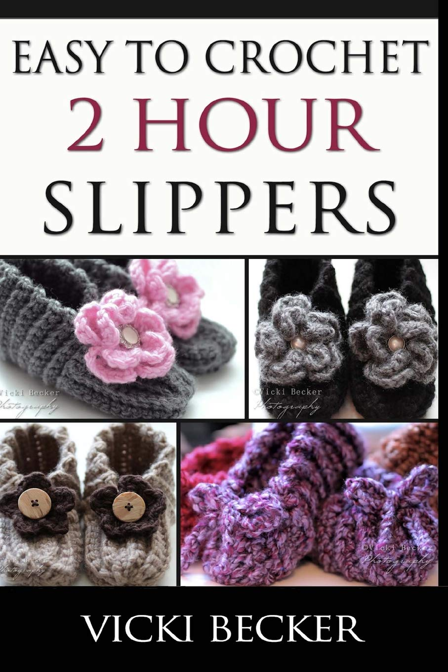 Easy Crochet 2 Hour Slippers product image