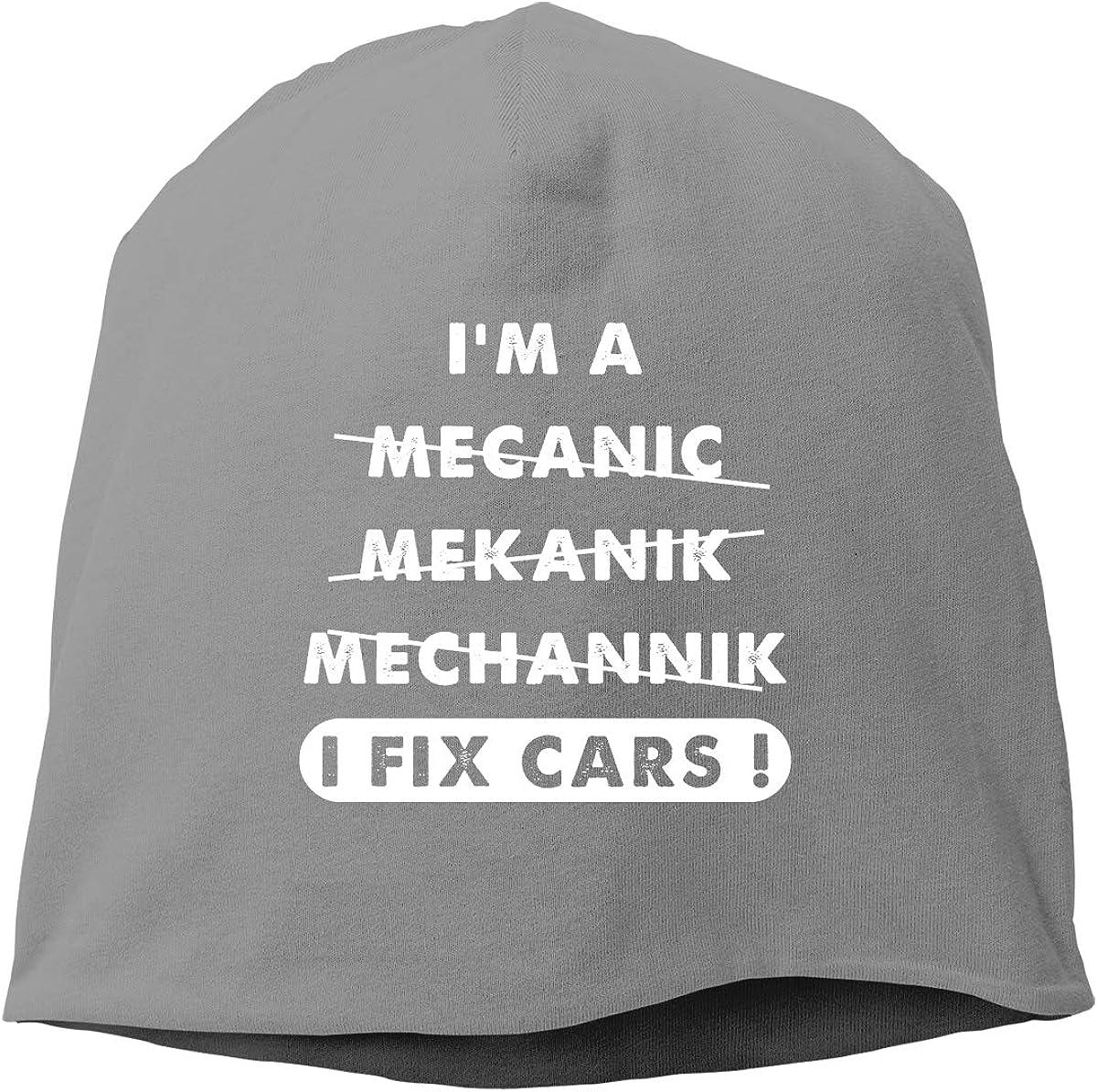 Im A Mechanic I Fix Cars Unisex Knitted Hat Beanie Hat Warm Hats Skull Cap