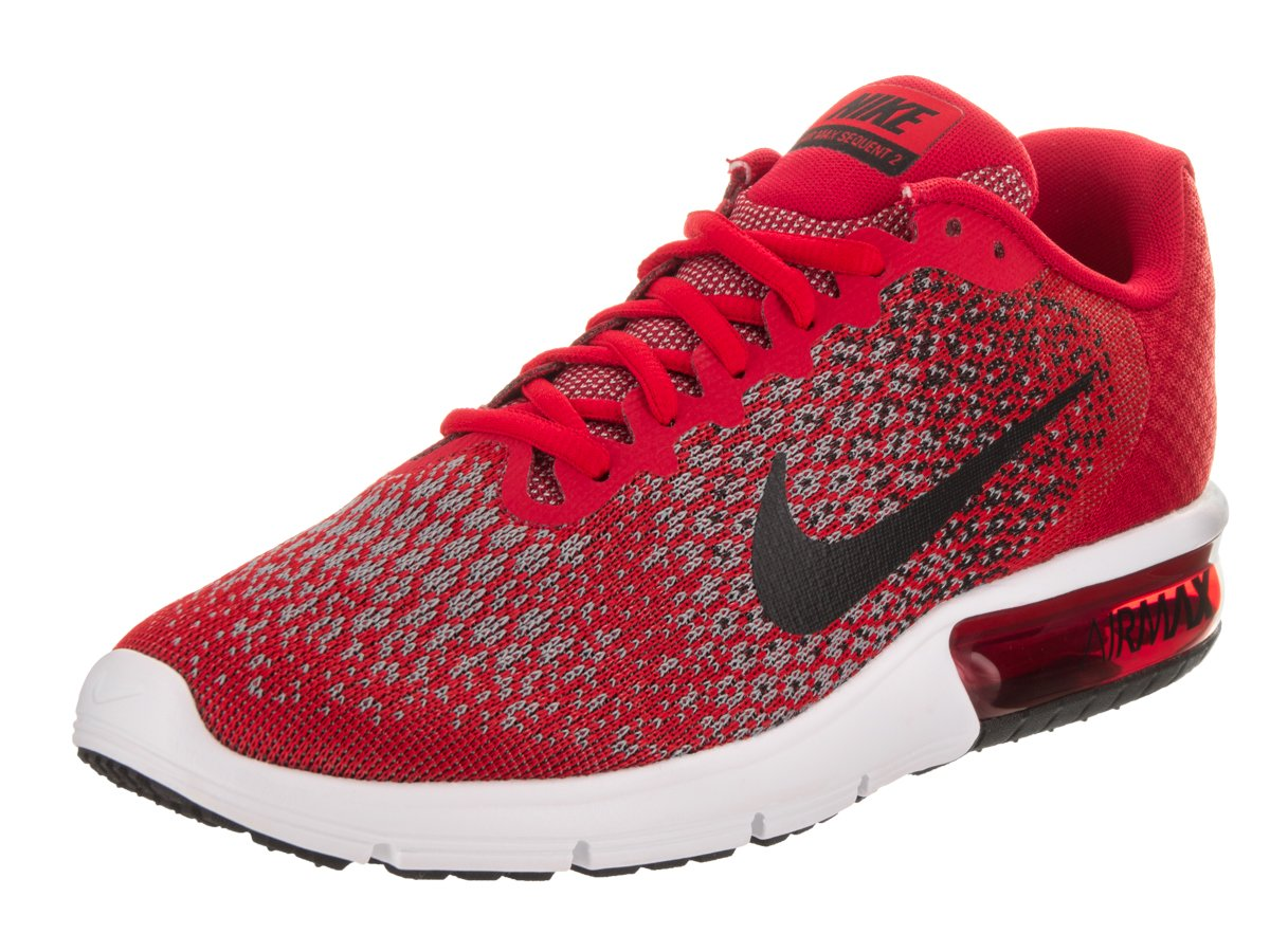 lowest price 8d0fe c6564 Galleon - NIKE Men s Air Max Sequent 2 Running Shoes (11.5 D(M) US, University  Red Black Cool Grey Black)