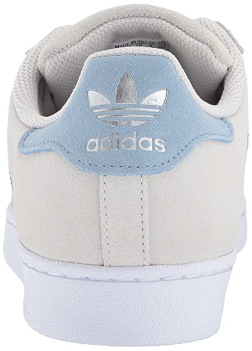 ADIDAS Men's Superstar Casual Shoes Pearl GreyTactile Blue
