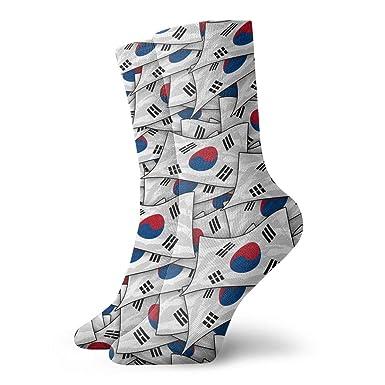 Amazon.com: Calcetines de copa de la bandera de Corea del ...