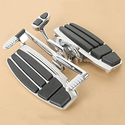 2014-2015 Honda Valkyrie,Matte Black XMT-MOTO Rider Driver Floorboard Kit for 2001-2017 Gold Wing GL1800,2013-2016 Gold Wing F6B