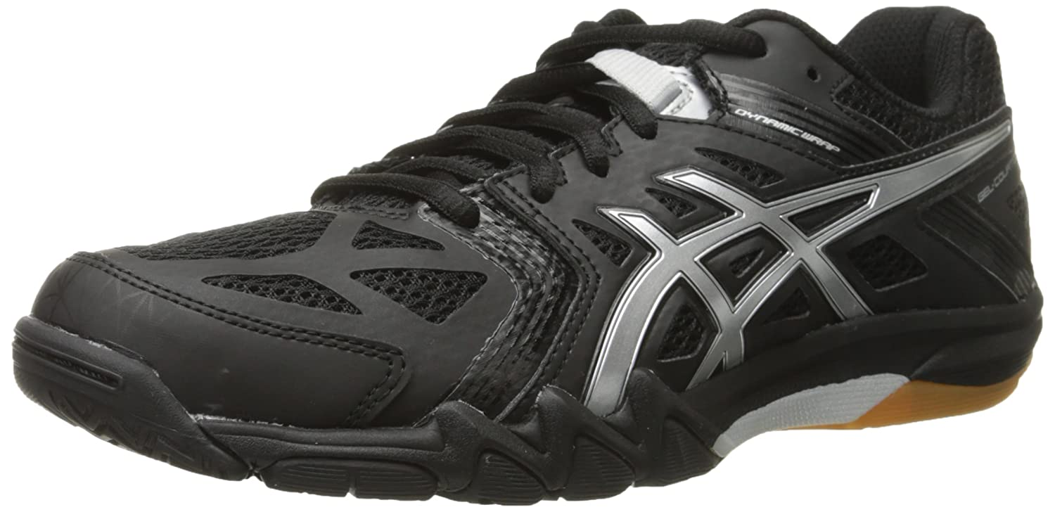 ASICS Women's Gel Court Control Volleyball Shoe B00Q2KDZXG 9.5 B(M) US|Black/Silver