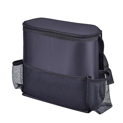 CAR PASS Universal Fit Waterproof Car Seat Back Organizers with Multi-Pocket Storage Bag,Fit for Suvs,Vans,Sedans,Trucks,Elegant Black(Cold-Preservation): Automotive