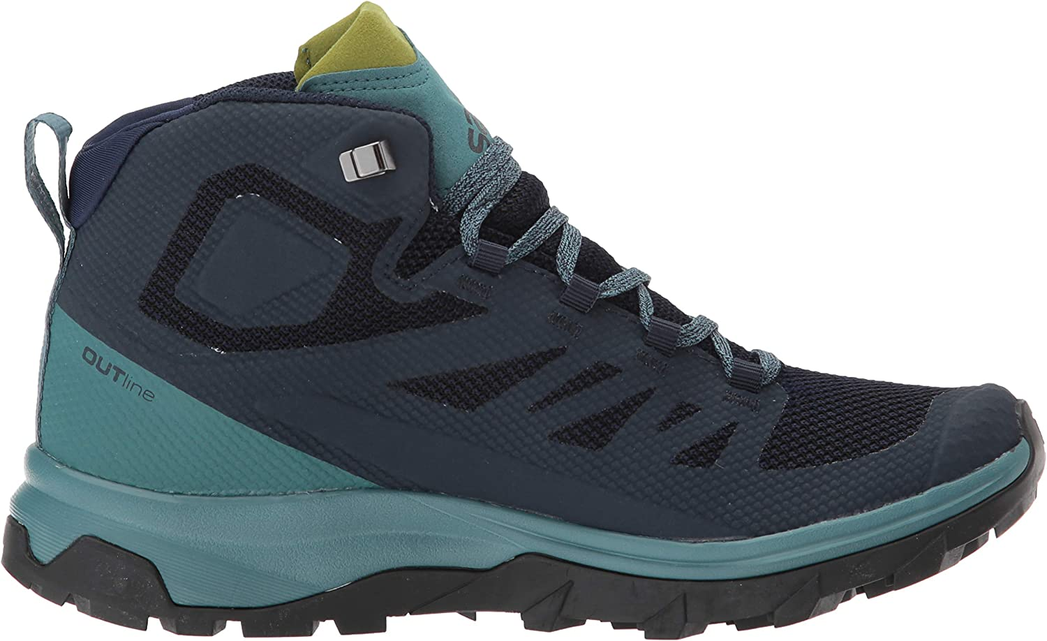 SALOMON Shoes Outline Mid GTX W Navy BlazeHydr, Chaussures