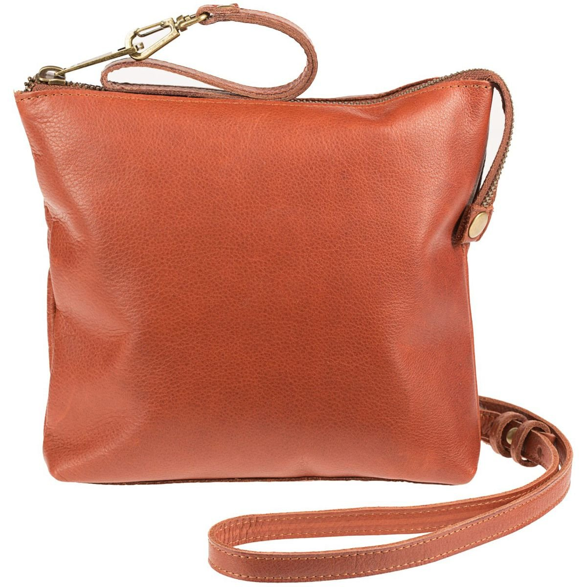 Will Leather Goods Petal Crossbody Purse - Women's Cognac, One Size by Will Leather Goods