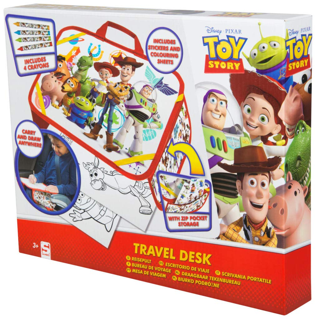 Toy Story 4 Travel Desk Kids Activity Packs With Crayons Stickers And Colouring Sheets Arts And Crafts For Boys And Girls
