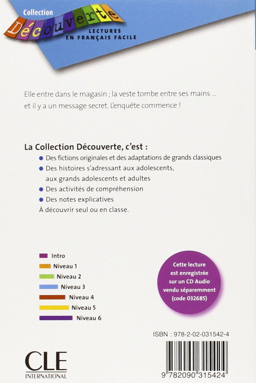 f7b582d5 La veste noire - Niveau 3: Evelyne Wilwerth: 9782090315424: Books -  Amazon.ca