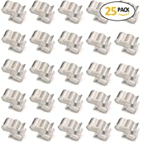 ELITEWILL 23mm Stainless Steel SunRunner Trailer Cable Frame Wire Clips Wiring to Frame 25pc