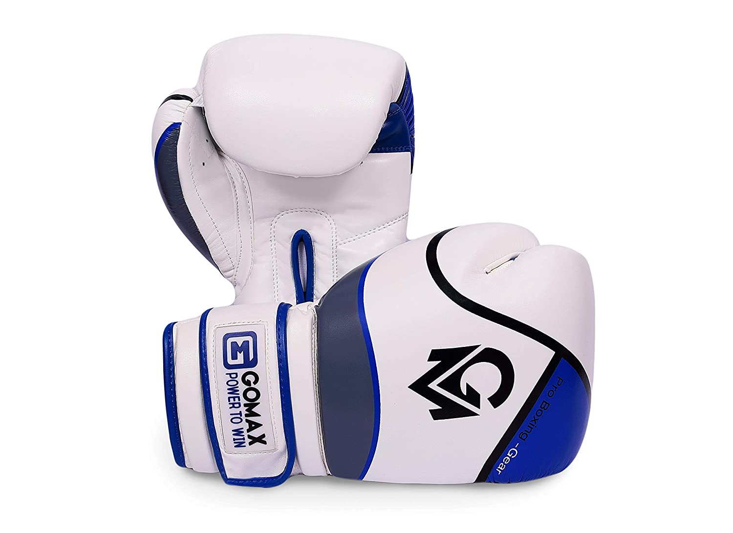 14 16 oz Boxing Gloves for Training Punching Sparring Punching Bag Boxing Bag Gloves Punch Bag Mitts Muay Thai Kickboxing MMA Martial Arts Workout Gloves GoMax Leather Boxing Gloves 6 12 10 8