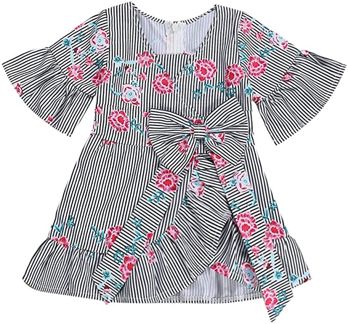 Vestido sin Mangas del Arco Iris de Little Girls Ceremonia de Fiesta Carnaval Unicornio Disfraz de fantas/ía