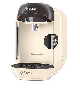 Bosch TAS1257GB Totalmente automática Máquina de café en cápsulas 0.7L Crema de color - Cafetera