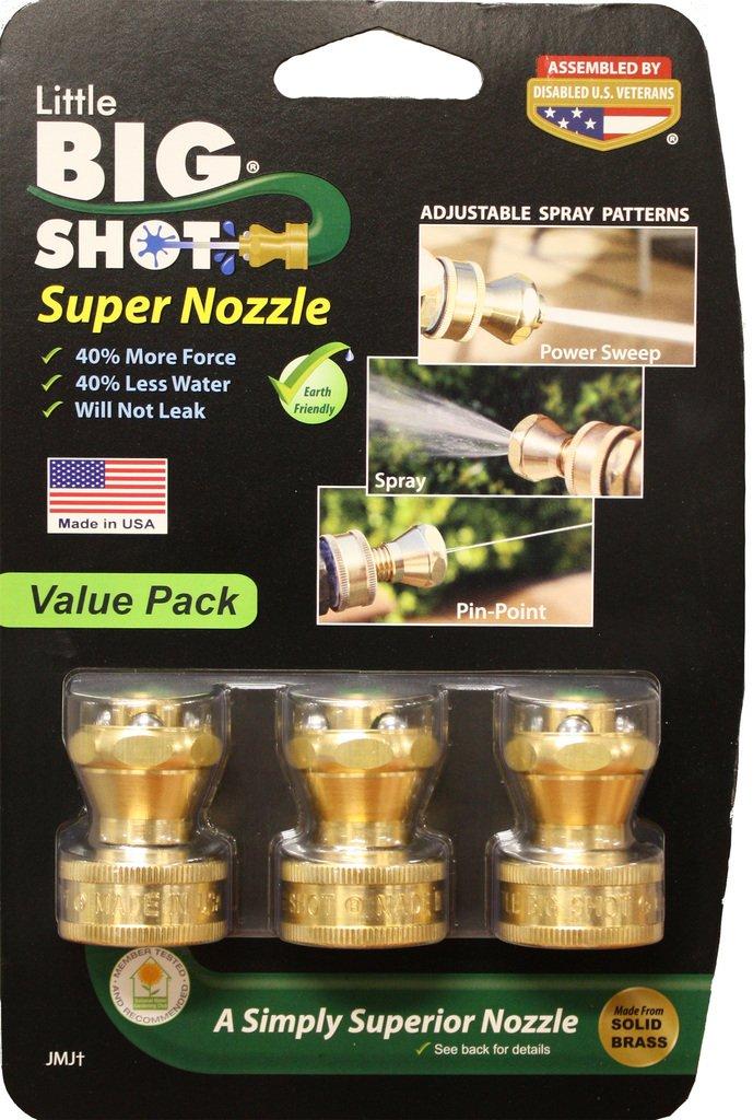 Little Big Shot Super Nozzle - 3pack