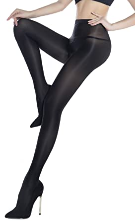 92cde5ea97a Women s Ultra Shimmery Plus Footed Tight 70D Thickness Shine Pantyhose  Stockings Pure tights