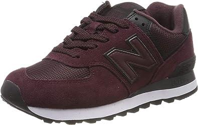 New Balance Damen 574v2 Sneaker, rot