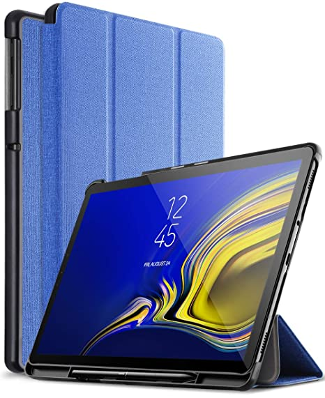 best website e3ee1 43ec6 Galaxy Tab S4 10.5 Case with S Pen Holder, Exact Design Ultra Slim-Shell  Stand Cover Case with Auto Wake/Sleep Function for Samsung Galaxy Tab S4  10.5 ...