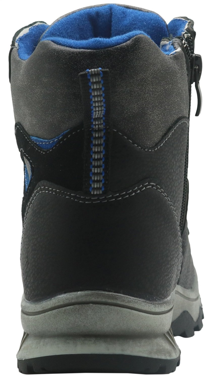 Little Kid//Big Kid Non-Slip Kids Shoes Winter Snow Boots with Woolen Lining Boys Hiking Snow Boots Durable Color : Black , Size : 3.5 M US Big Kid