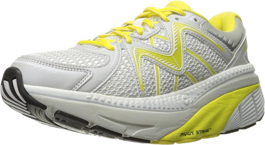 MBT Women s zee 16 Running Shoe White Yellow 13 ... b0d47c9d53