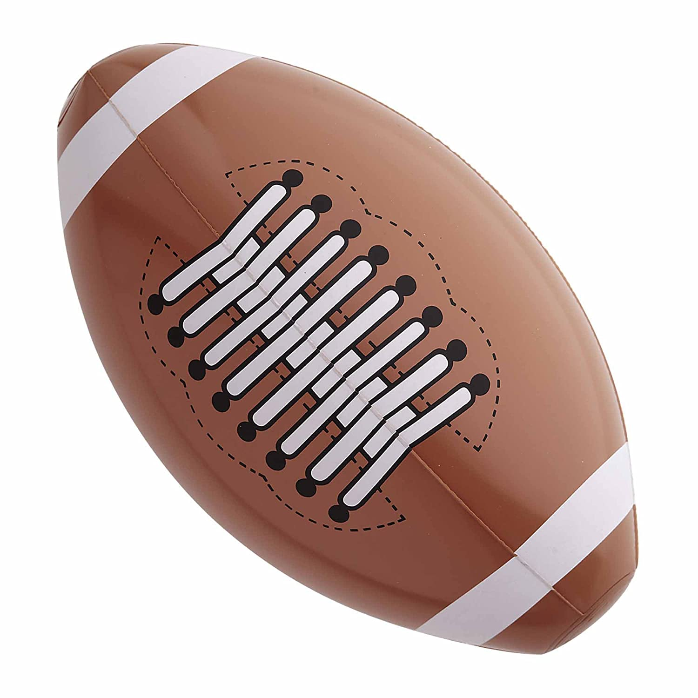 Widmann - AC5312 - Ballon de football americian gonflable 36 cm Aptafêtes