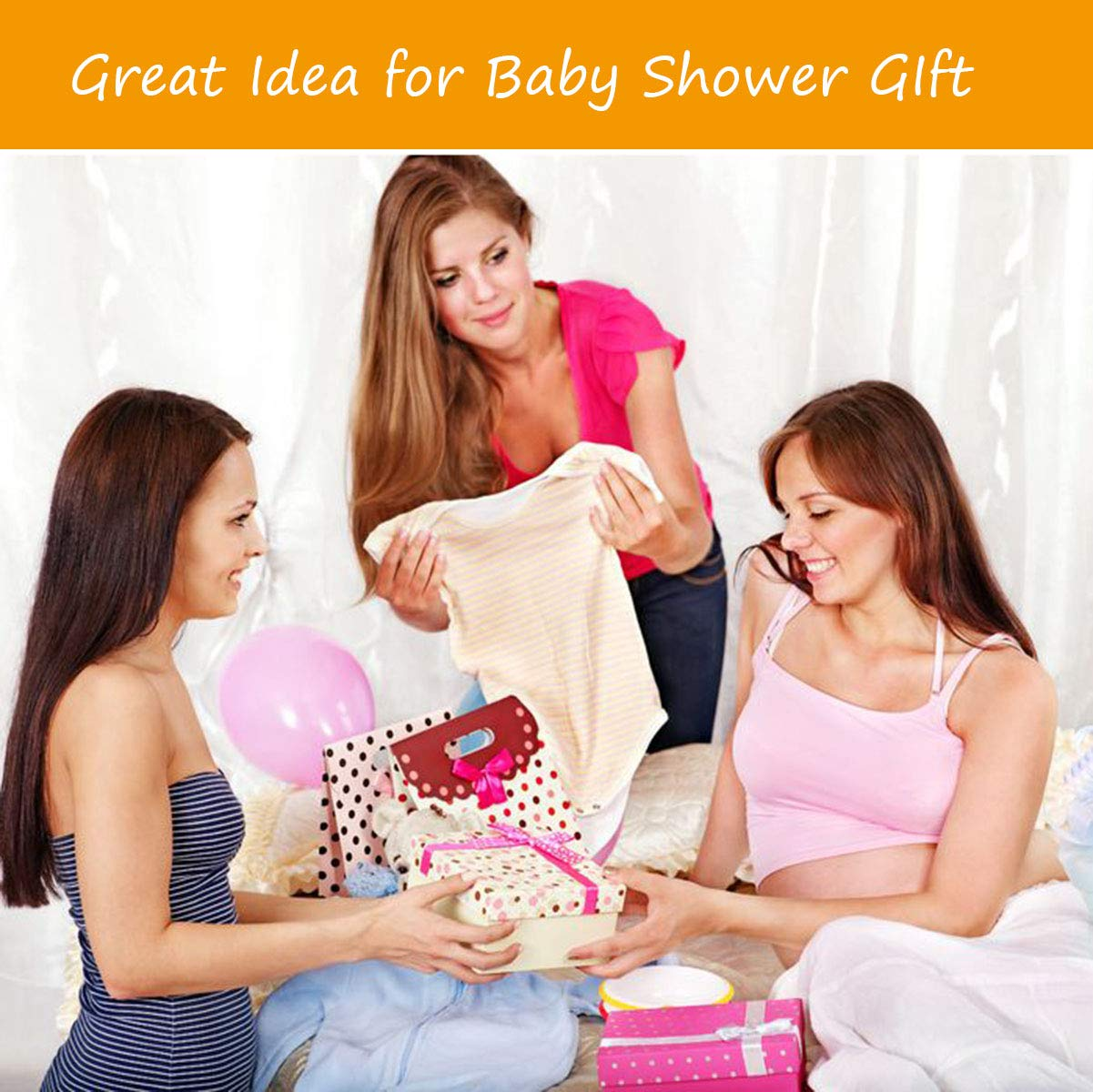 Baby Hammock for Crib Mimics Womb Newborn Bassinet Strong Material Upgraded Safety Measures Infant Nursery Travel Bed Reduce Environmental Risk Associated with Early Infancy Baby Shower Gift by SYITCUN (Image #8)