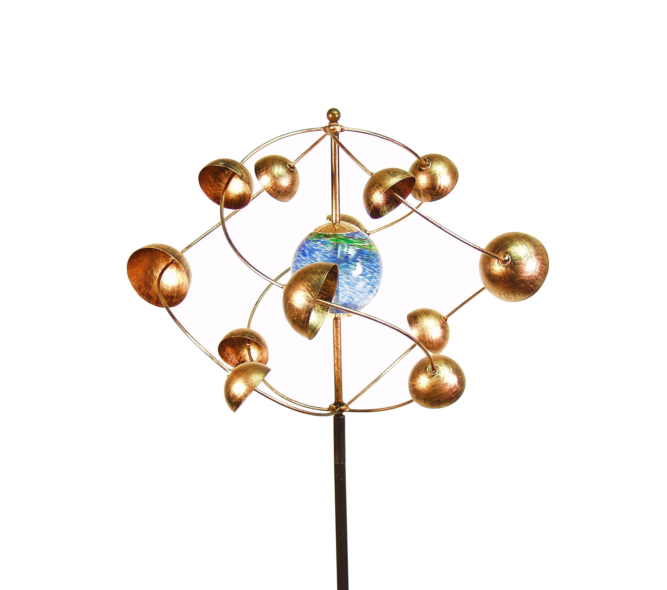 Echo Valley 4394 Illuminarie Cosmic Kinetic Spinner Stake, 17.75 by 17.5 by 58-Inch