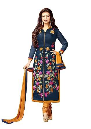 96c9566de1b8 Bollywood Ready made pakistani designer salwar kameez (Unstitch)  Amazon.co. uk  Clothing