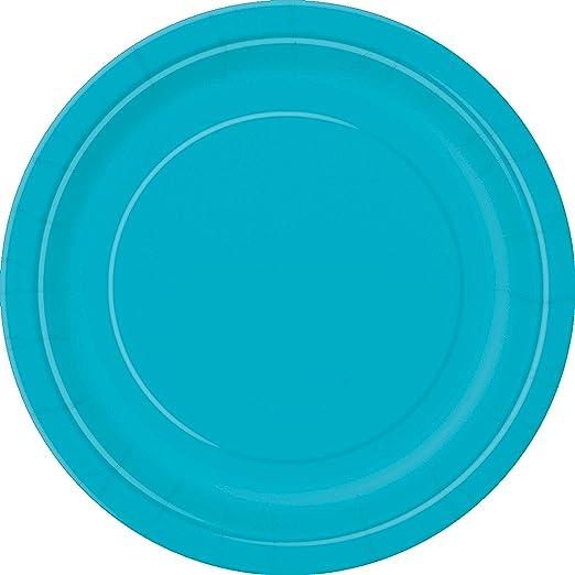 "20 Hot Magenta Pink Wedding Birthday Party Tableware 7/"" Plastic Bowls"