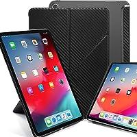 KHOMO - Funda Horizontal y Vertical para iPad Pro de 11 Pulgadas (versión 2018) - Serie Dual Origami - Ver a través de…