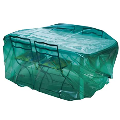 Maillesac JP0300 Housse pour Mobilier de Jardin Plastique Vert ...