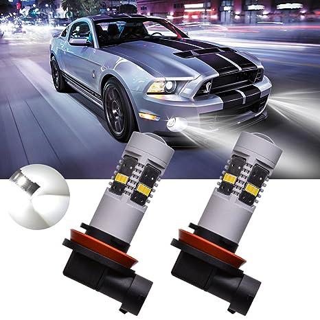 Led Lights For Cars >> Amazon Com Tuincyn White H16 5202 Led Bulbs Used For Automobile