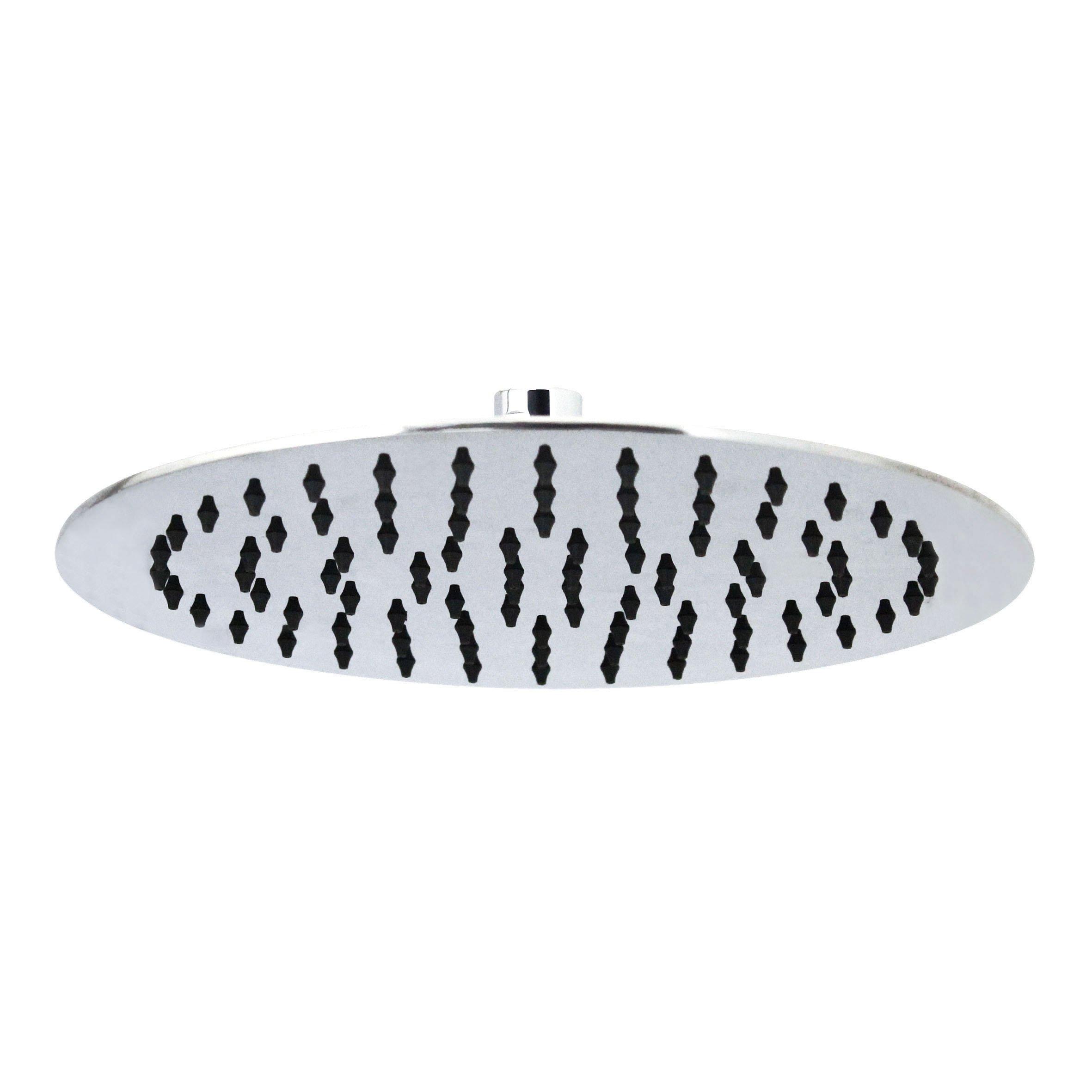 MODONA 10'' THIN Round Rain Shower Head - STAINLESS STEEL (SS304)