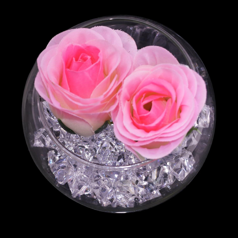 KAKOO El Hielo de Acrílico Claro 120Pcs / 2.5CM Salpica el Cristal para la Decoración de la Boda de la Tabla del Relleno del Florero: Amazon.es: Juguetes y ...