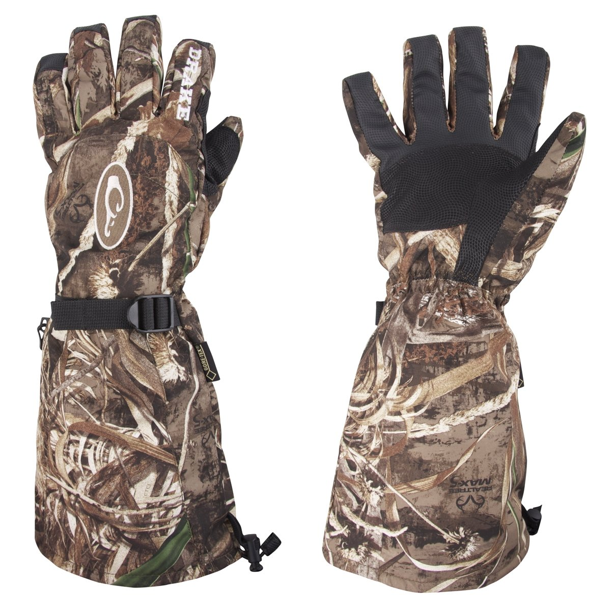 Drake Men's Double Duty Gore-Tex Decoy Gloves (MEDIUM)
