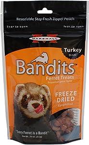 Marshall Bandits Freeze Turkey Dried Treat For Pets
