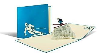 Geburtstagskarte Für Skifahrer Gutschein Für Eine Skireise