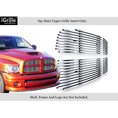 APS Compatible with 02-05 Dodge Ram Stainless Steel Main Upper Billet Grille Insert D65720C: Automotive [5Bkhe2001163]