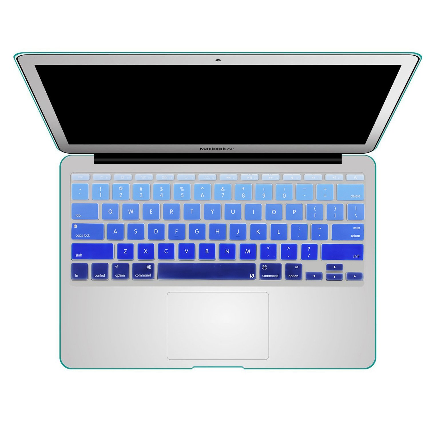 san francisco 75015 51988 Litop 11inch Thin Gradient Series Silicone Keyboard Cover Skin for APPle  MacBook Air 11